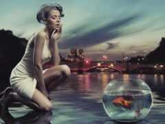 miro, voda, отражение