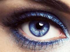 глаз, eyes, blue