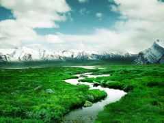 paisajes, fondos, fondo