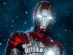мужчина, iron, marvel