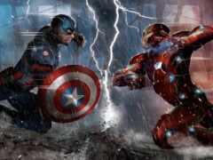 captain, avenger, pantalla