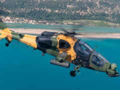 вертолет, attack, море