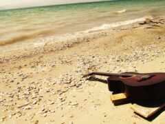 гитара, пляж, романтика