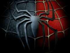 мужчина, logo, паук