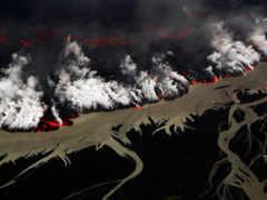 holuhraun, вулкан, извержение