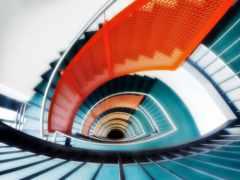 лестница, spiral, лестницы