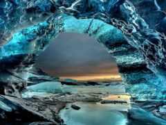 пещера, скафтафетль, iceland