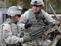 армия, поезд, tapety