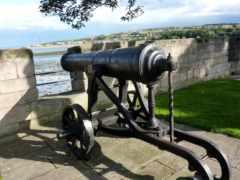 пистолет, стены, форт