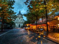 париж, кафе, university