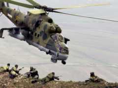 вертолет, солдаты Фон № 98304 разрешение 1920x1080