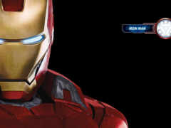 iron man, red