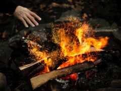 огонь, wood, бросок