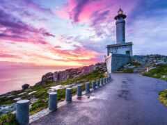 lighthouse, испания, город