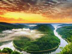гора, human, landscape