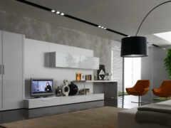 гостиная, стена, идея