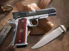 пистолет, нож