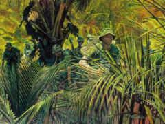 джунгли, risunok, вьетнам