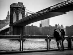 мост, текст, monochrome
