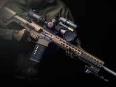винтовка, американский, semi