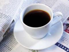 postcard, журналист, coffee