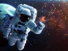 нота, космос, pantalla