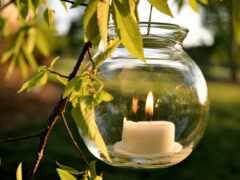 природа, свеча, день
