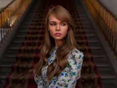russian, модель, stair