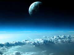 космос, nebula, galaxy