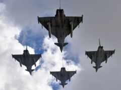 eurofighter, typhoon, самолёт