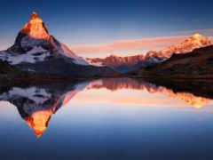 горы, гора, маттерхорн