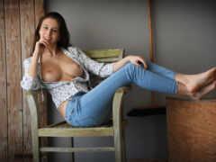 sit, джинсы, гламур