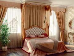 спальни, дизайна, балдахины