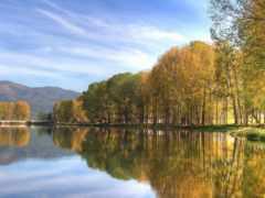 озеро, успокаивающие, телефон