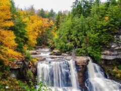 водопад, пасть, fore