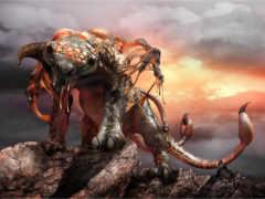 левиафан, чудовище, фэнтези
