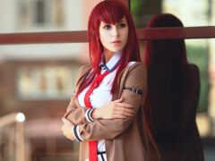 девушка, anime, cosplay