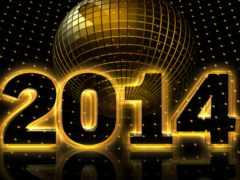 Новый год 2014 Фон № 58939 разрешение 2560x1600