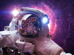 космос, рубашка, астронавт