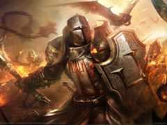 щит, рыцарь, art