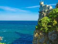 море, отдых, крымский