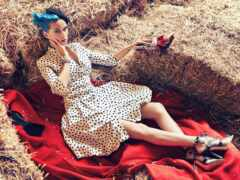 singer, фотосессия, платье
