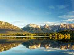 priroda, gora, ozero