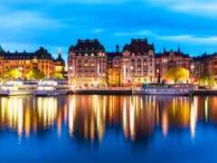 stockholm, sweden, town