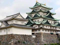 японии, architecture, замки