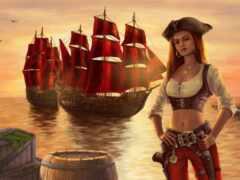 пиратка, olgareseda, девушка