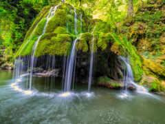 природа, водопад, pazlyi