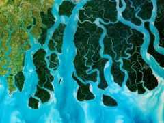 reki, река, спутника