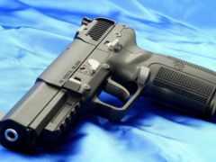 пистолет, боевой
