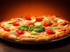 пицца, шаблон, презентация